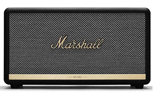 Marshall Stanmore II Wireless Bluetooth Speaker, Black