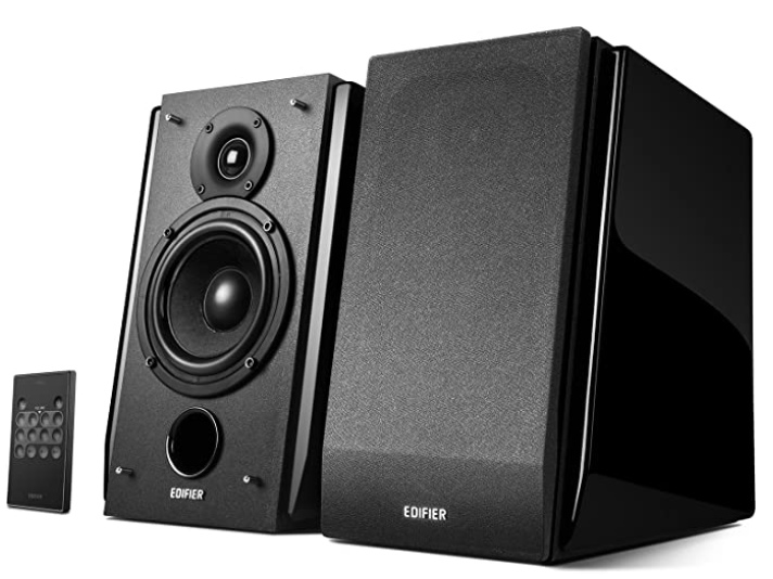 Edifier R1850DB Active Bookshelf Speakers with Bluetooth and Optical Input - 2.0 Studio Monitor Speaker - Built-in Amplifier with Subwoofer Line Out