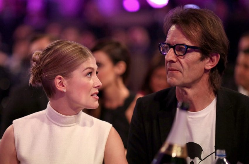 Everything you need to know about Rosamund Pike's Partner – Robie Uniacke